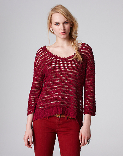 Meg Open Stitch Sweater