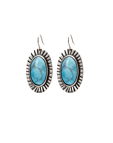 Melissa Joy Manning Turquoise Earrings
