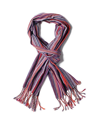 Men's Multi-Stripe Scarf