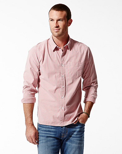 Mendocino Gingham One-Pocket Shirt