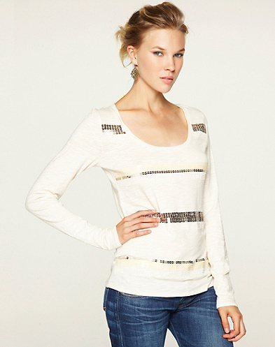 Mindy Beaded T-Shirt*