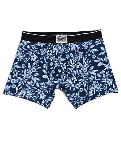 Mini-Leaf Printed Boxer Briefs*