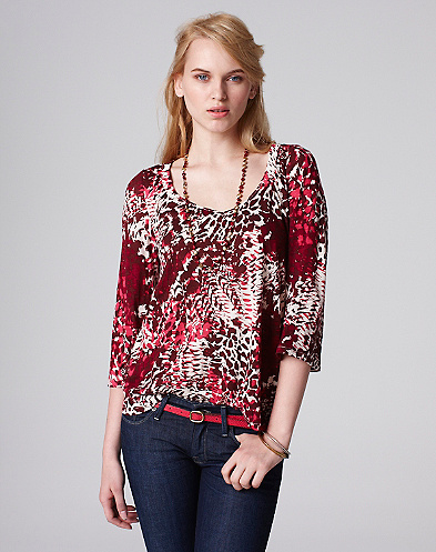 Mixed Feathers Penelope Top*