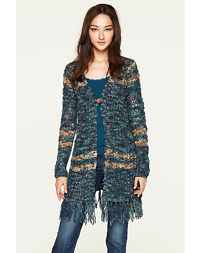 Molly Fringed Duster