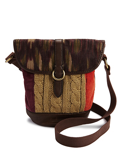 Montana Avenue Patchwork Crossbody