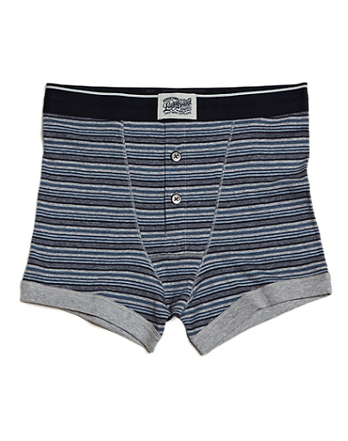 Mood Indigo Striped Boxer Briefs*