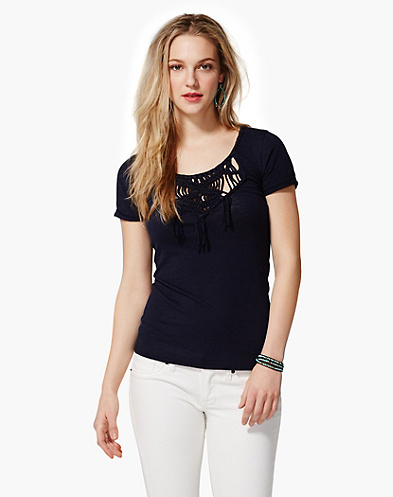 Moreea Macram&eacute; T-Shirt