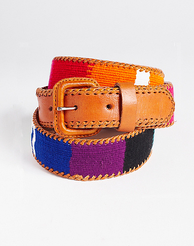 Multi Block Printed Belt*
