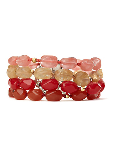 Multi-Stone Layered Bracelet*