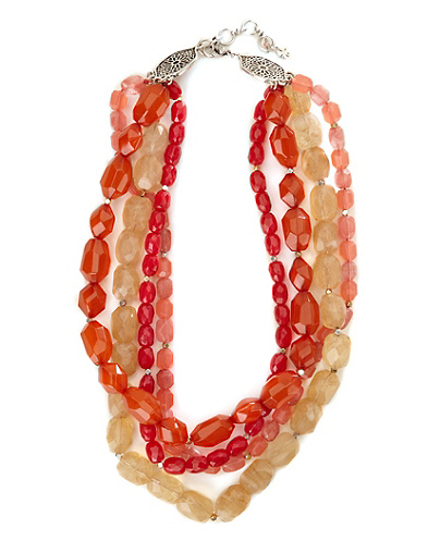 Multi Strand Torsade Necklace*