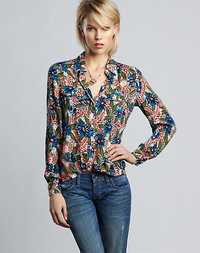 Naomi Floral Top