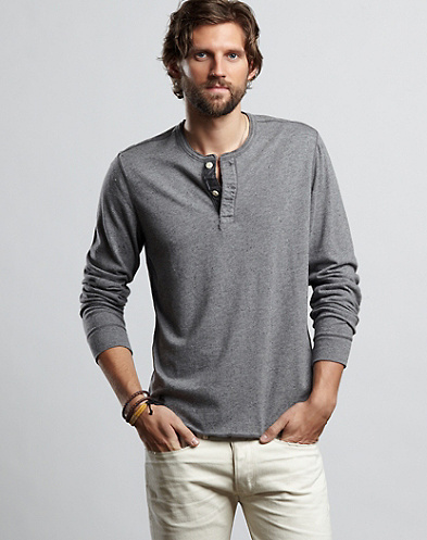 Nep Henley Shirt*