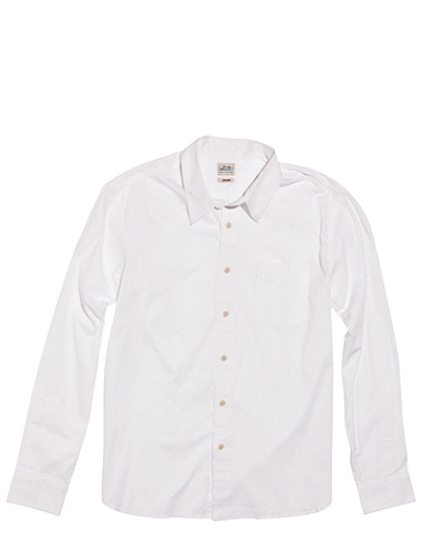 Nepal White Stripe Shirt*