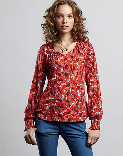Nico Watercoler Blossom Top*