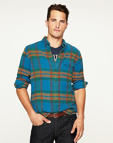 Nomad Plaid One-Pocket Shirt*