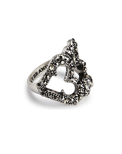 Openwork Pave Ring