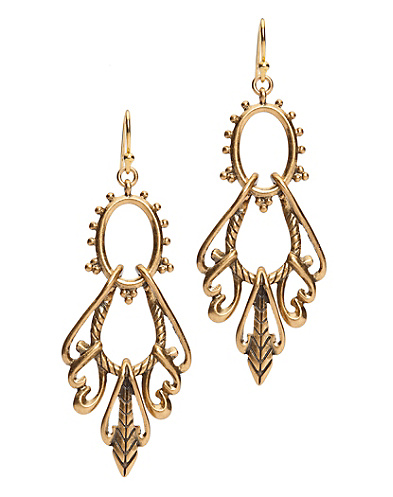 Openwork Swing Earrings