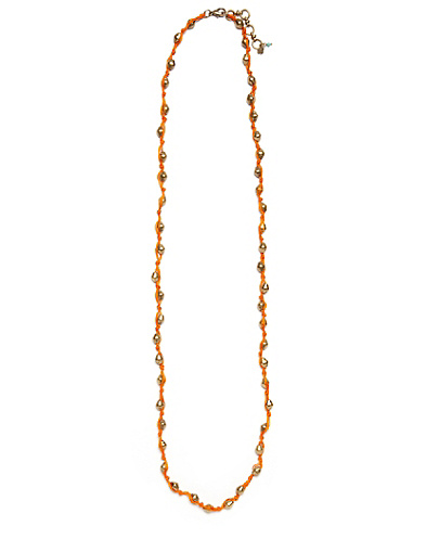 Orange Neon Necklace