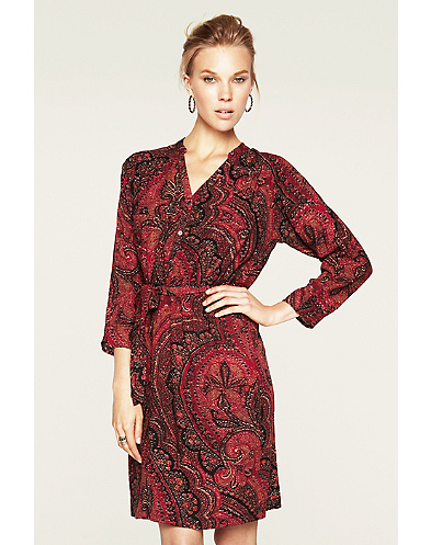 Oriental Rug Shirt Dress*