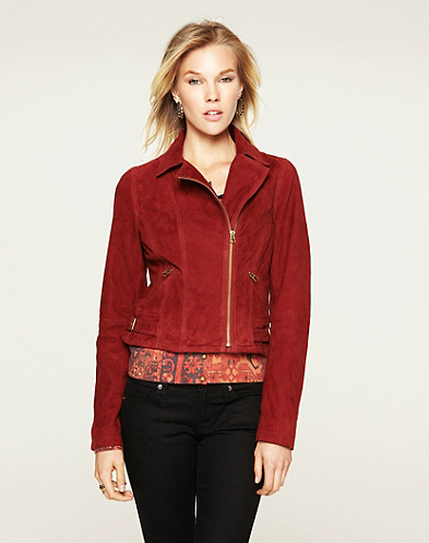 Outpost Suede Jacket*