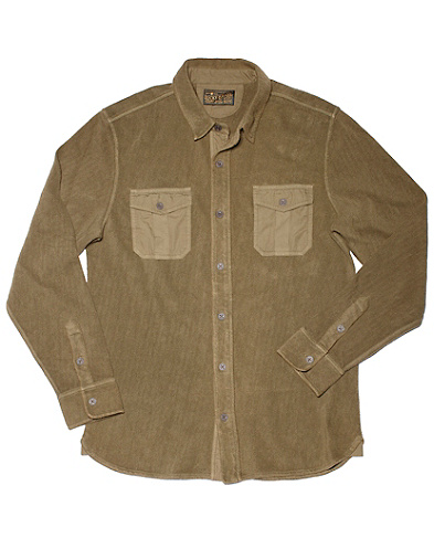 Overdyed Two-Pocket Shirt*