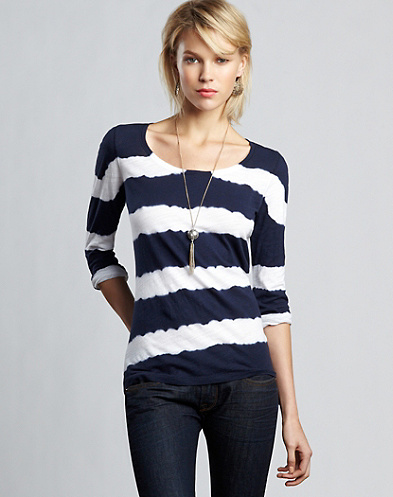 Painted Stripe Tee*