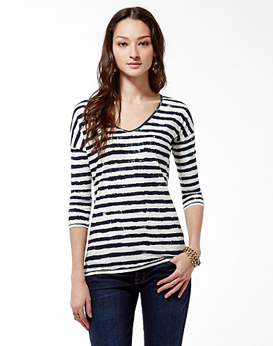 Painterly Stripe T-Shirt