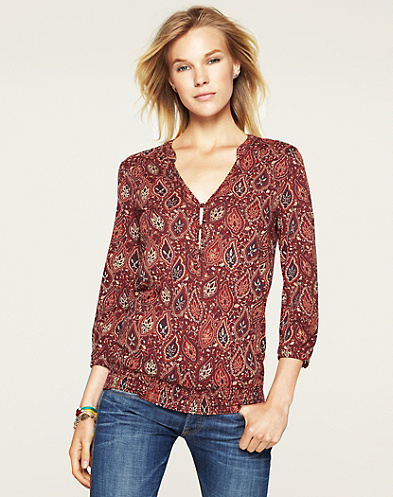 Paisley Garden Scarletta Top*