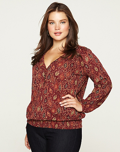 Paisley Garden Scarletta Top