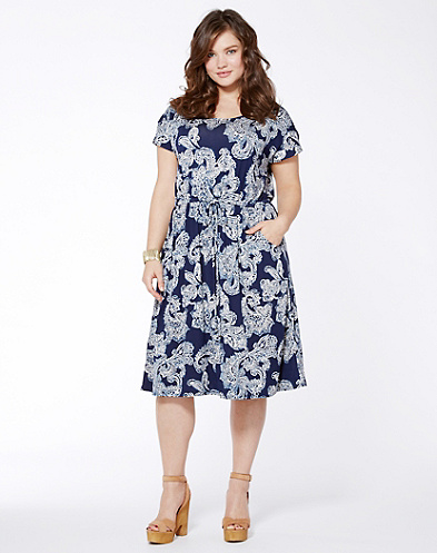 Paisley Haze Dress