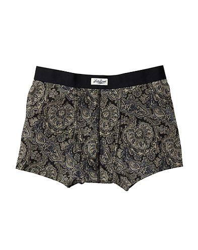 Paisley Knit Brief