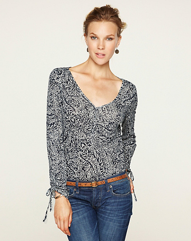 Paisley Mika Top