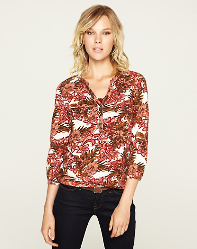 Paisley Peony Silvia Top