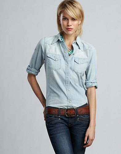 Palomino Denim Shirt*