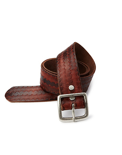 Parabal Vintage Embossed Belt