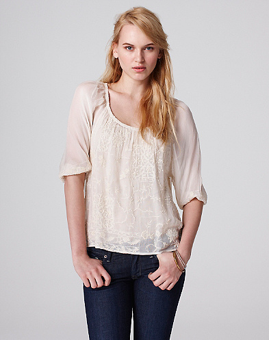 Patchwork Lace Top
