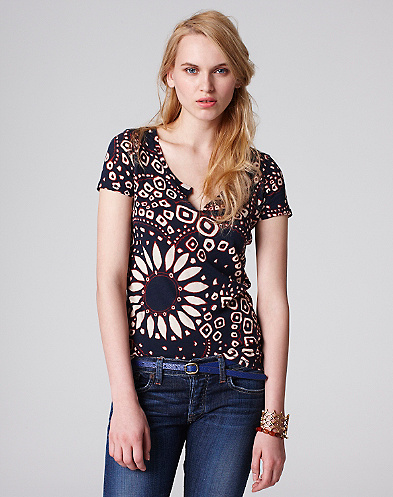 Patricia Allover Print T-Shirt
