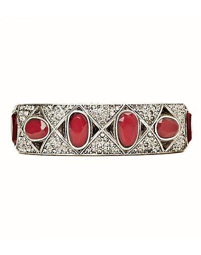 Pave and Set Stone Studded Bangle*