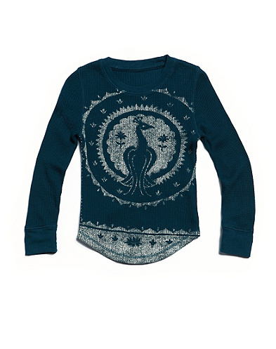 Peacock Medallion Thermal*