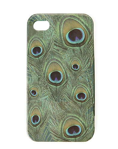 Peacock Printed Hardcase
