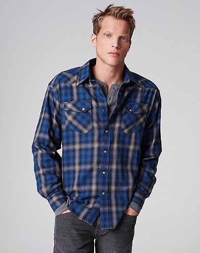 Pendleton Plaid Western Shirt*