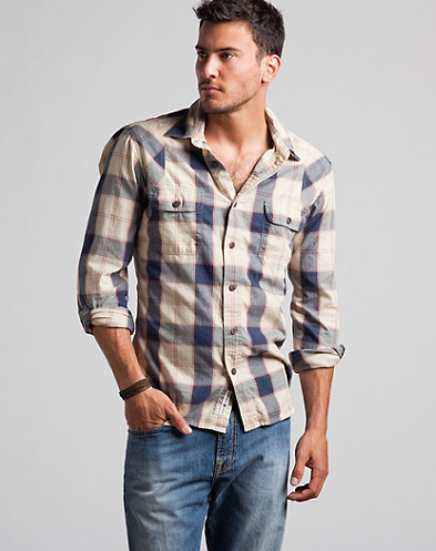 Pine Crest Plaid Workwear Shirt*