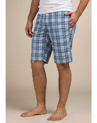 Plaid Chino Shorts*