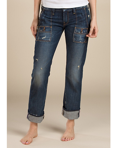 Pork Chop Straight Cropped Jeans*