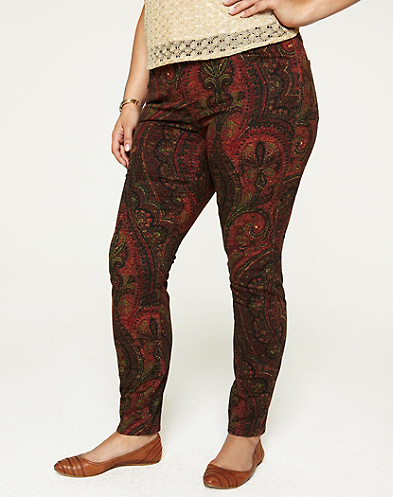 Printed Ginger Skinny Jeans