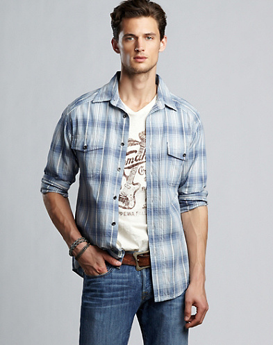 Randsburg Plaid Workwear Shirt*