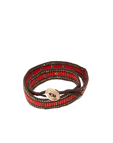 Red Double Wrap Bracelet