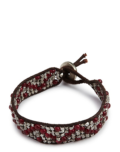 Red Zig Zag Bracelet