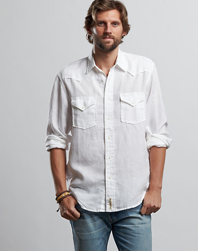 Reef Solid Western Shirt*