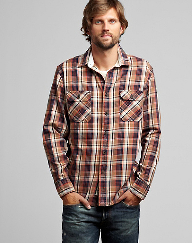 Ridge Plaid Workwear Shirt*